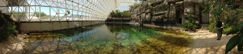 The Biosphere 2 ocean biome