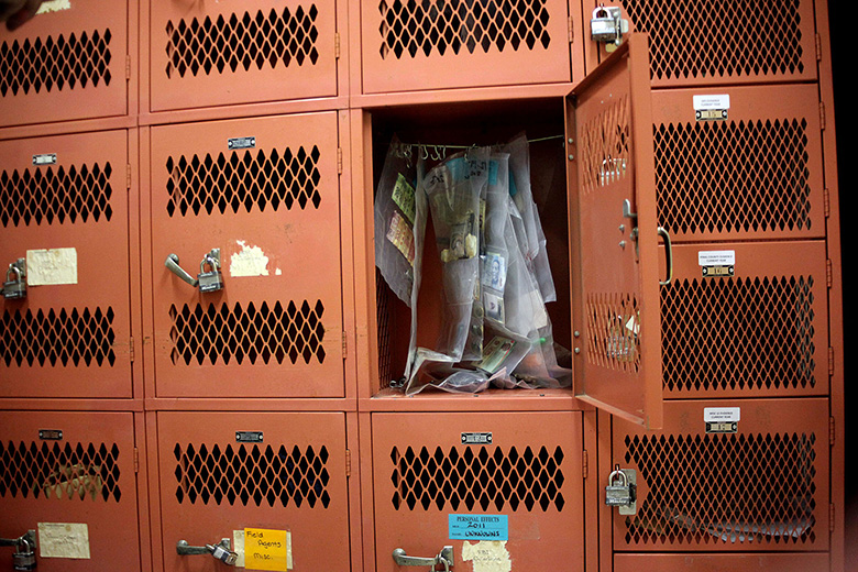 Pima County Medical Examiner's Office locker