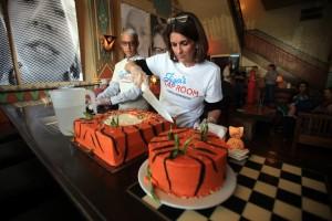 Tiger's cake